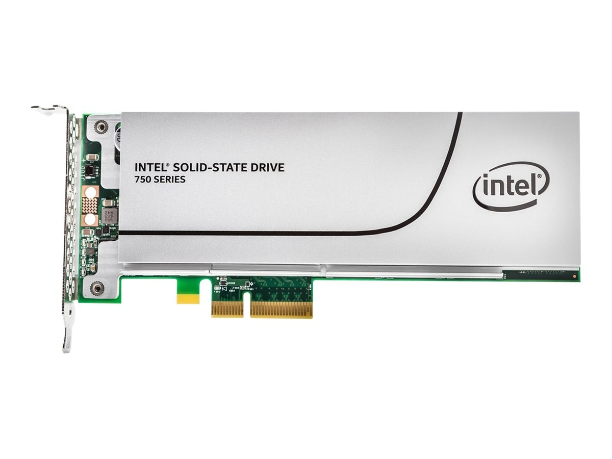 Intel 800GB Half Height PCIe 3.0 20NM MLC SSD, SSDPEDMW800G4X1, 26835241, Solid State Drives - Internal