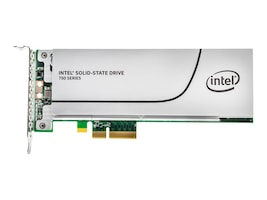 Intel 1.2TB 750 Series FH PCIe 3.0 20NM MLC Solid State Drive (Retail), SSDPEDMW012T4X1, 27564720, Solid State Drives - Internal