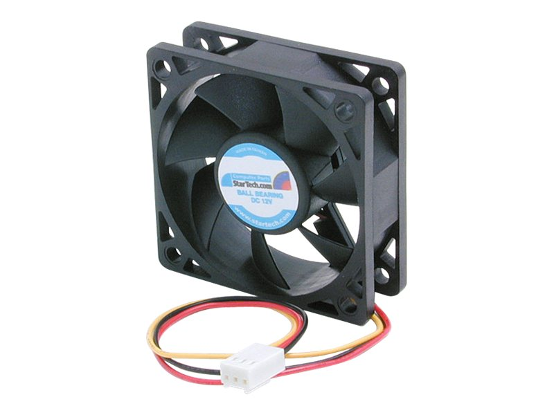 StarTech.com CPU Case Coolnig Fan Motor, 6x2cm with TX3 Connectors, FAN6X2TX3