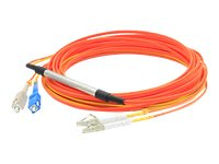 ACP-EP LC-SC OM1 62.5 125 OM1 Duplex LSZH Mode Conditioning, Orange, 2m