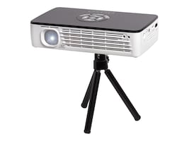 Aaxa P700 WiFi Pro LED Projector, 650 Lumens, Black White, KP-700-03, 33648292, Projectors