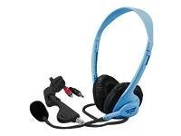 Califone Multimedia Stereo Headset, 3064AVBL, 31472692, Headphones