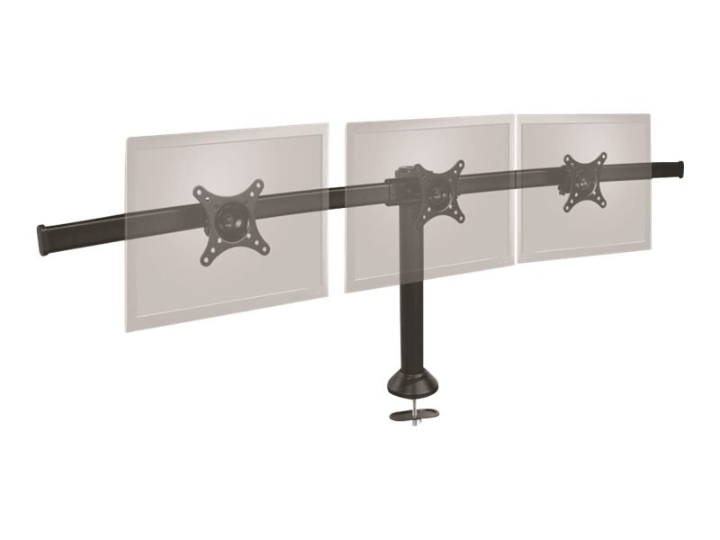 Siig Triple Monitor Desk Stand to 13 to 24 Displays, CE-MT1812-S1, 16190620, Stands & Mounts - AV