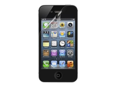 Belkin TruClear Transparent Screen Protector for iPhone 4 and 4S, F8Z678TT3