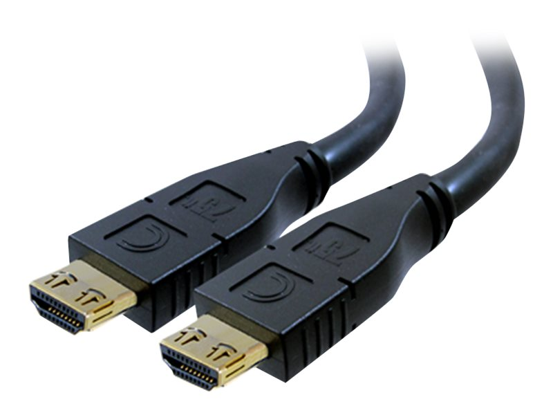 Comprehensive Pro AV IT Series High Speed HDMI 24 AWG with ProGrip, SureLength, CL2P Cable, 50ft, HD-HD-50PROP, 16516132, Cables