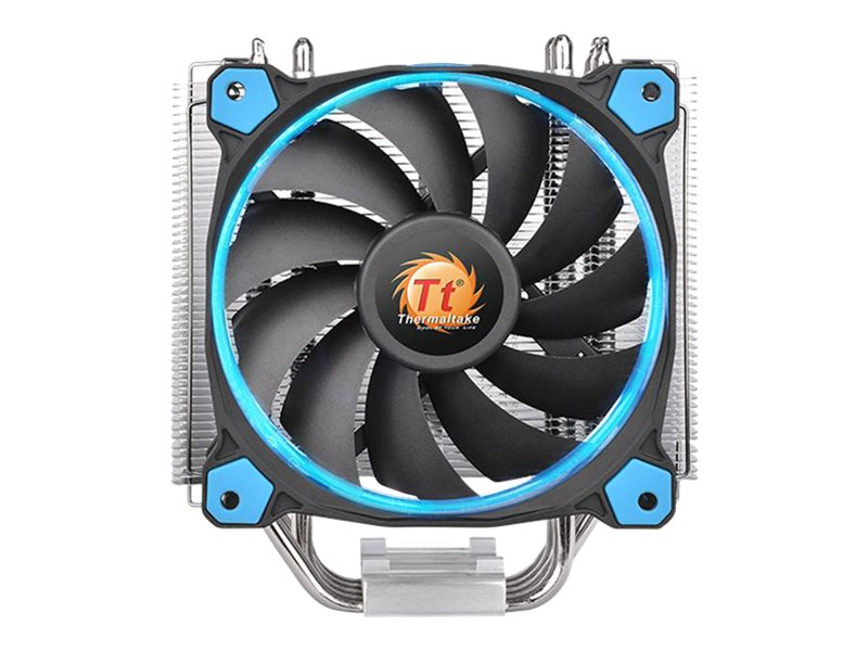 Thermaltake Riing Silent 12 CPU Cooler, Blue