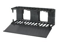Panduit Horizontal Cable Manager, NMF4, 15702110, Rack Cable Management