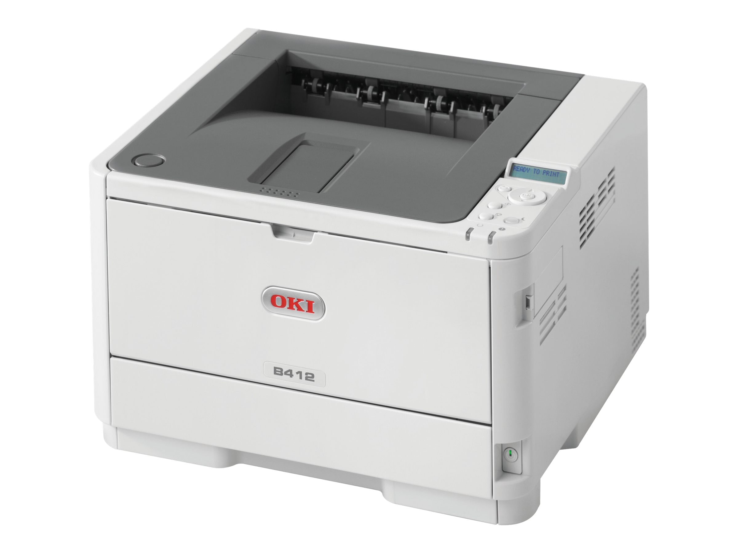 Oki B412dn Monochrome Printer, 62444301, 18226340, Printers - Laser & LED (monochrome)
