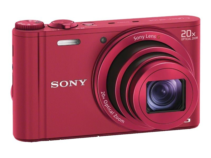 Sony DSC-WX300 Camera - Red, DSCWX300/R