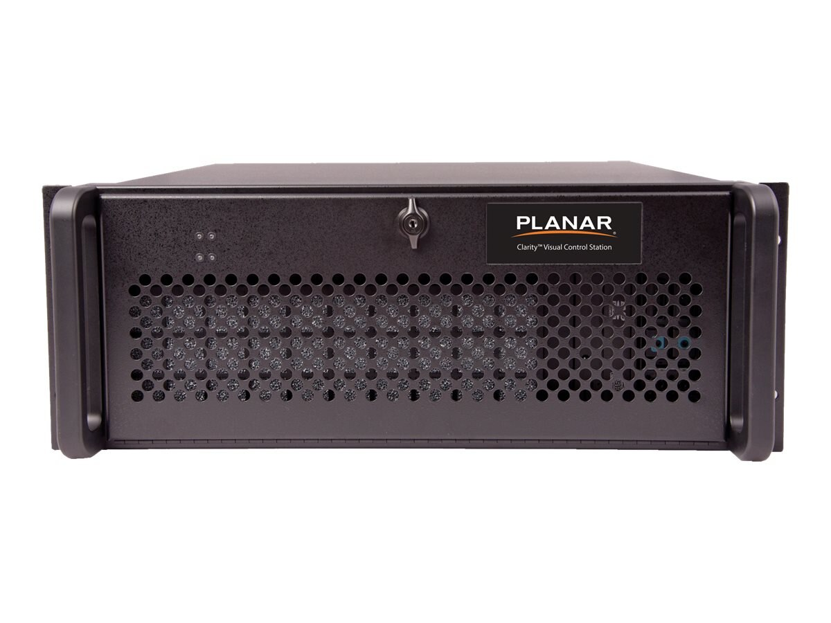 Planar Clarity VCS-8DP,4 Video Wall Processor, Core i7 8GB Win7, 997-7708, 21085728, Digital Signage Systems & Modules