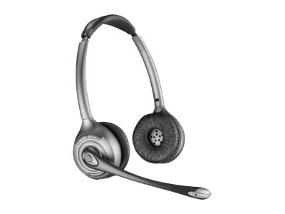 Plantronics WH350 Savi Over-the-Head Binaural Replacement Headset, 83322-11
