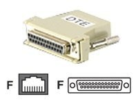 Aten RJ45F to DB25F DTE to DTE Adapter, SA0143, 17956130, Adapters & Port Converters