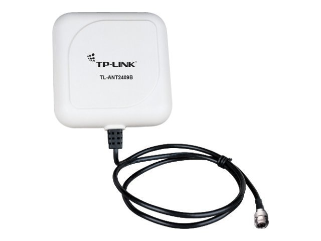 TP-LINK 2.4GHz 9dBi Outdoor Directional Antenna, N Female Connector, with 3ft Cable, TL-ANT2409B