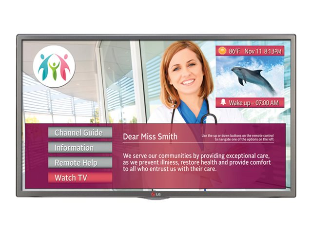 LG 43 LX770M LED-LCD Hospitality Smart TV, Black