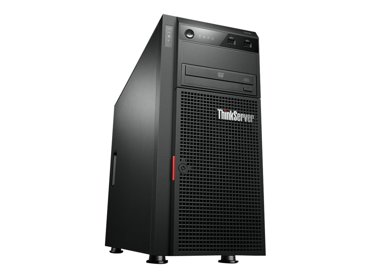 Lenovo ThinkServer TD340 Xeon 2.5GHz 144GB 16x300GB WS2012, 70B70004US, 16864954, Servers
