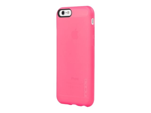 Incipio NGP Flexible Impact-Resistant Case for iPhone 6 6s, Translucent Neon Pink
