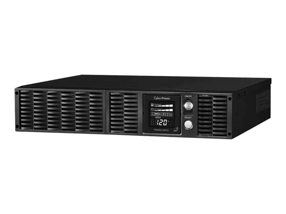 CyberPower 2170VA 1600W Smart App Sinewave LCD UPS 2U Rackmount Tower AVR, PR2200LCDRT2U, 8875186, Battery Backup/UPS