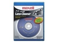 Maxell Maxell Blu-ray Lens Cleaner, 190054, 10710997, Cleaning Supplies