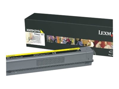 Lexmark Yellow High Yield Toner Cartridge for X925de Color Laser MFP, X925H2YG
