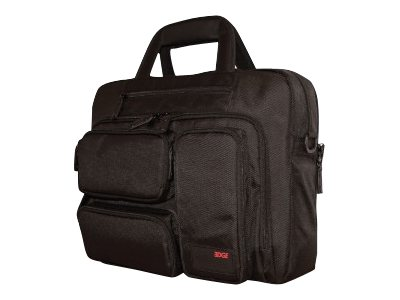 Mobile Edge Corporate Briefcase 16 PC, 17 Mac Black, MEBCC1