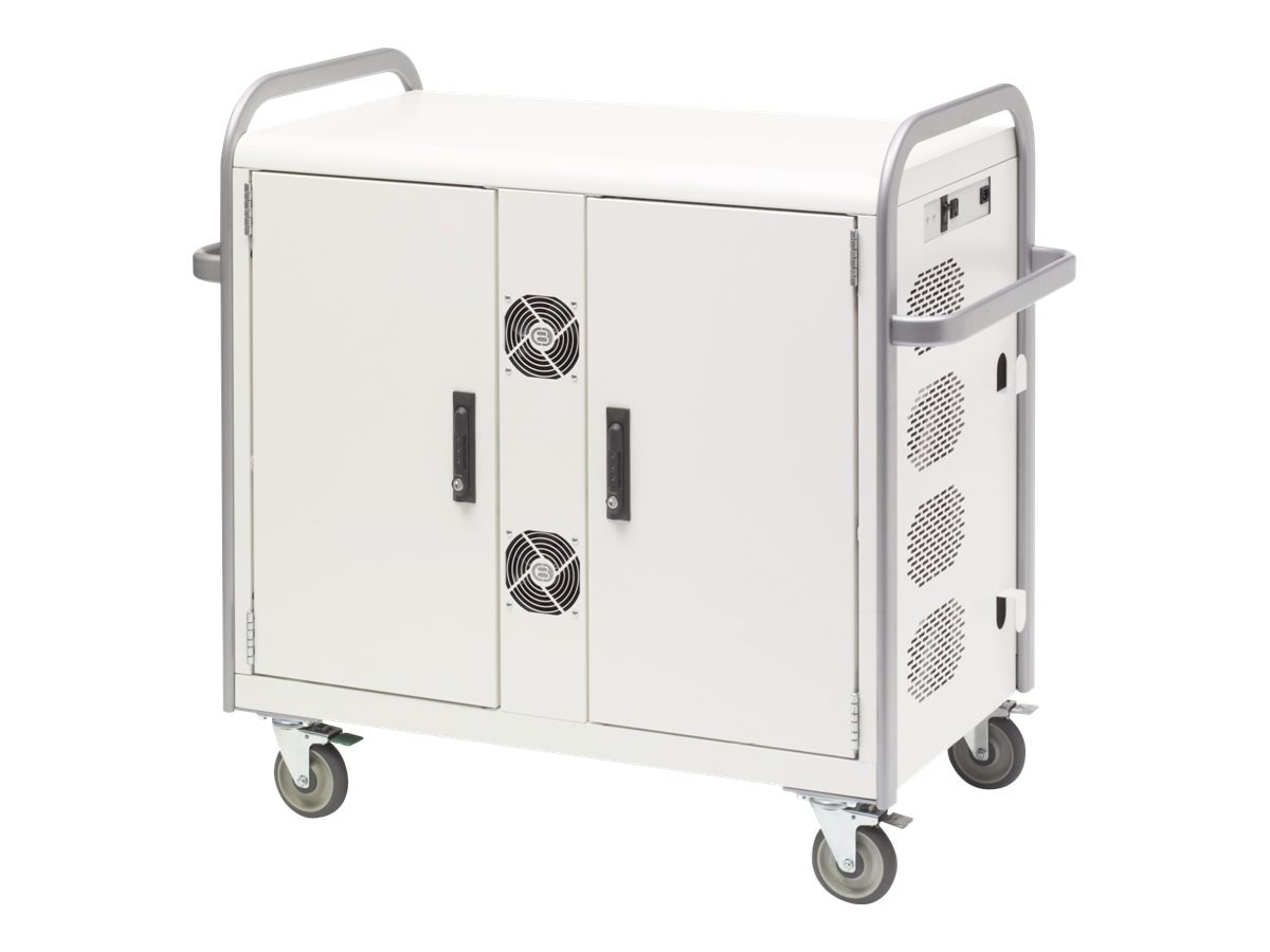Bretford Manufacturing 32-Unit Network Managed Laptop Cart (A Network Switch DOES NOT come with this cart.), MDMLAP32NR-CTAL
