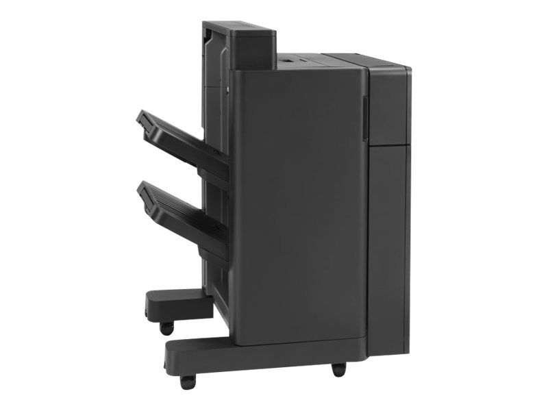 HP LaserJet Stapler Stacker w  2 3 Hole Punch for HP LaserJet Enterprise M806dn, M806x+ & M830z, CZ995A