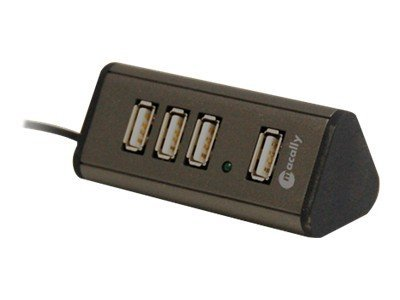 Macally 4 Port USB 2.0 Hub, TRIHUB4, 8856330, USB & Firewire Hubs