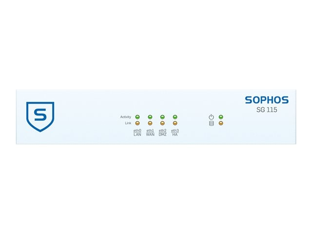 Sophos Corp. SG 115 TotalProtect 24x7, 3-year (US power   cord), SB1B3CSUSK, 27269131, Network Security Appliances
