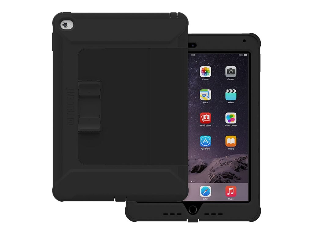 Trident Case Cyclops Case w  Sliding Stand iPad Air 2, Black, CY-APIPA2-BKSLK