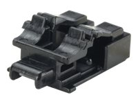 Panduit Standard LC Duplex Adapter Blockout Device, 10-Pack