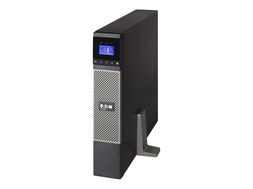 Eaton 5PX UPS 2200VA Graphical LCD Line Int. 2U Rack Tower 120V 5-20P Input, Instant Rebate - Save $75, 5PX2200RT