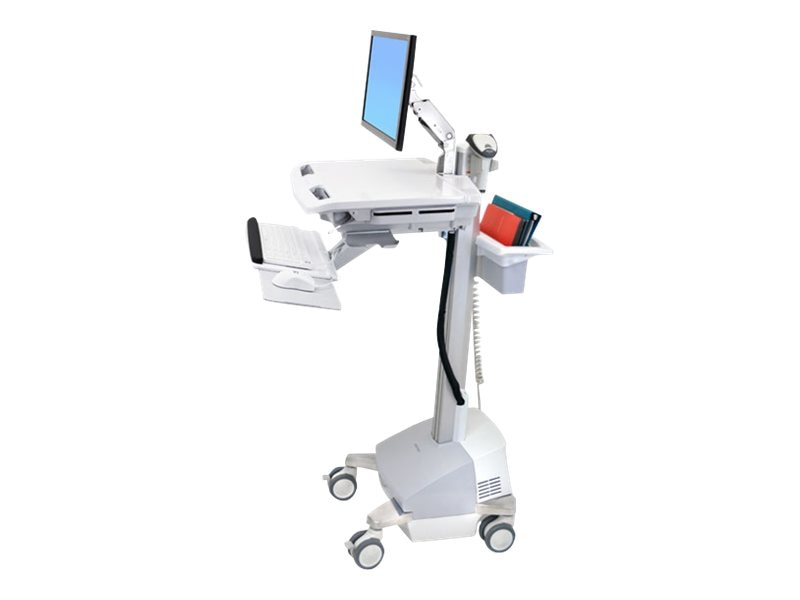 Ergotron StyleView Cart with LCD Arm, SLA Powered, AU NZ, SV42-6201-4, 15908513, Computer Carts - Medical