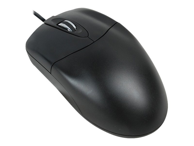 Adesso 3 Button USB Optical Scroll Mouse, Black