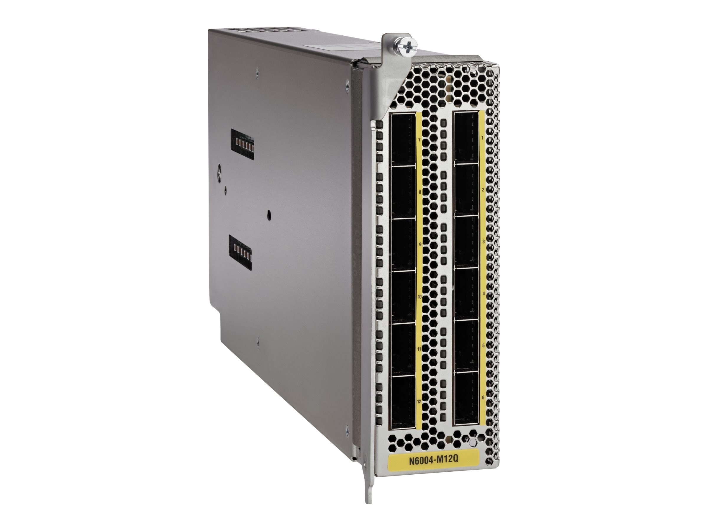 Cisco Nexus 6004 EF Chassis Module 12Q 40GE ETH FCOE, N6004-M12Q, 16443156, Network Device Modules & Accessories