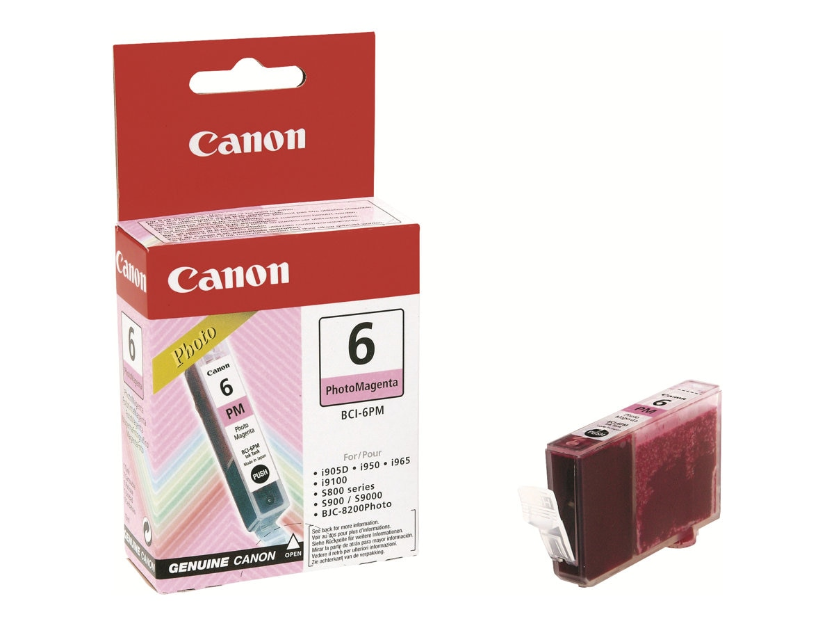 Canon Photo Magenta BCI-6PM Ink Tank, 4710A003, 227786, Ink Cartridges & Ink Refill Kits
