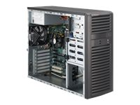 Supermicro Barebone, E5-2600 Series, Mid-Tower, X9DAI
