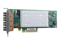 Qlogic Quad Port 16GB Fibre Channel PCIe 3.0 Low-Profile HBA, QLE2694L-CK, 30822005, Host Bus Adapters (HBAs)