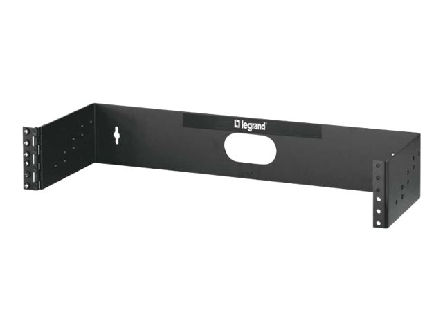 C2G 2U x 19 Hinged Wall Mount Bracket, 14620, 30927384, Rack Mount Accessories