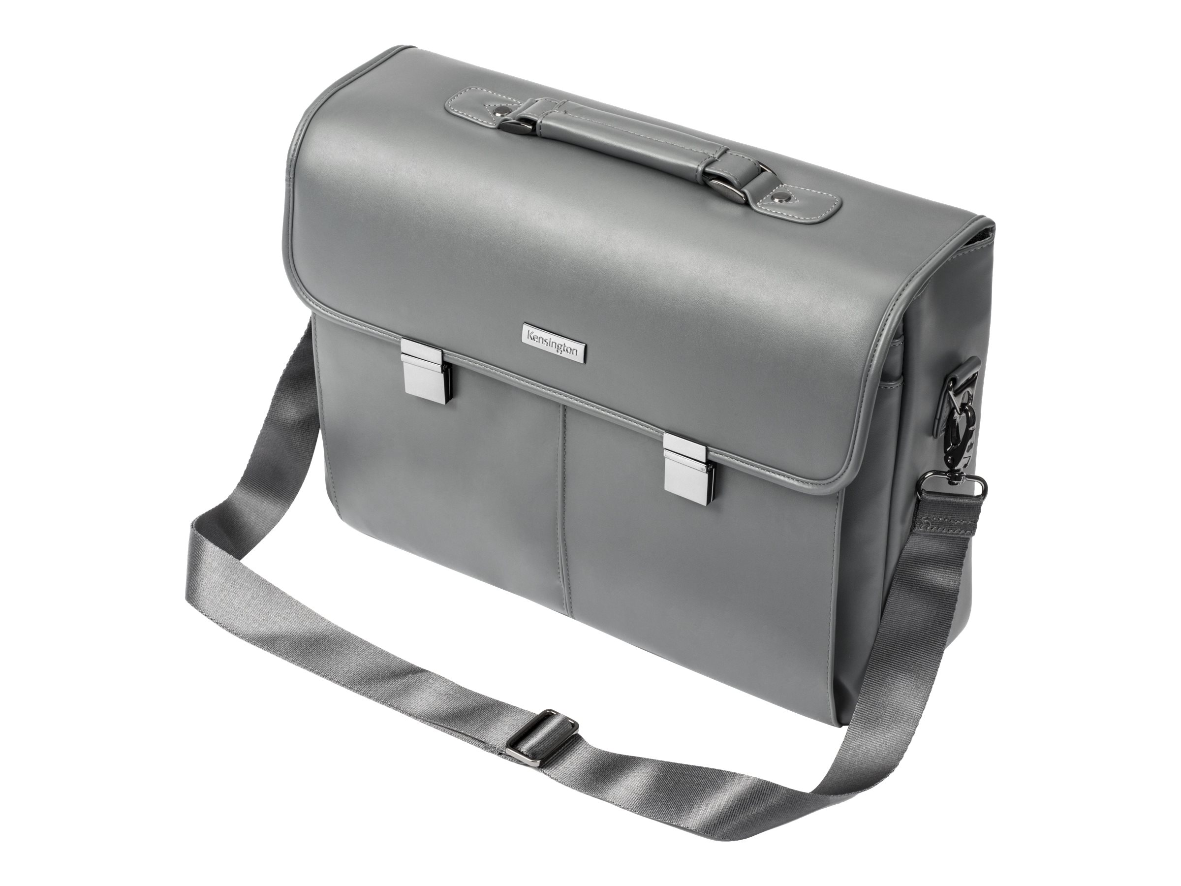 Kensington LM550 Laptop & Tablet Briefcase 15.6, Gray, K62612WW, 31128120, Carrying Cases - Other
