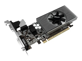 PNY GeForce GT 730 PCIe Graphics Card, 2GB DDR3, VCGGT7302D3LXPB, 17463440, Graphics/Video Accelerators