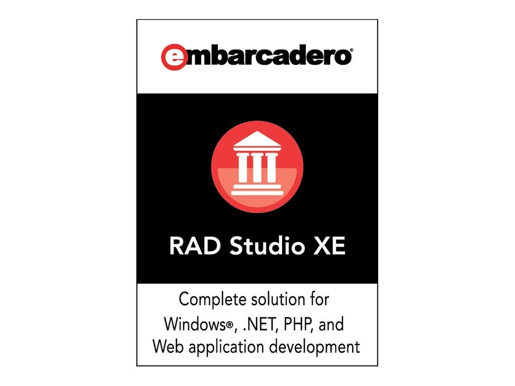 Embarcadero Corp. RAD Studio XE Architect Named, BDAX00MLENWB0, 12426471, Software - Programming Tools