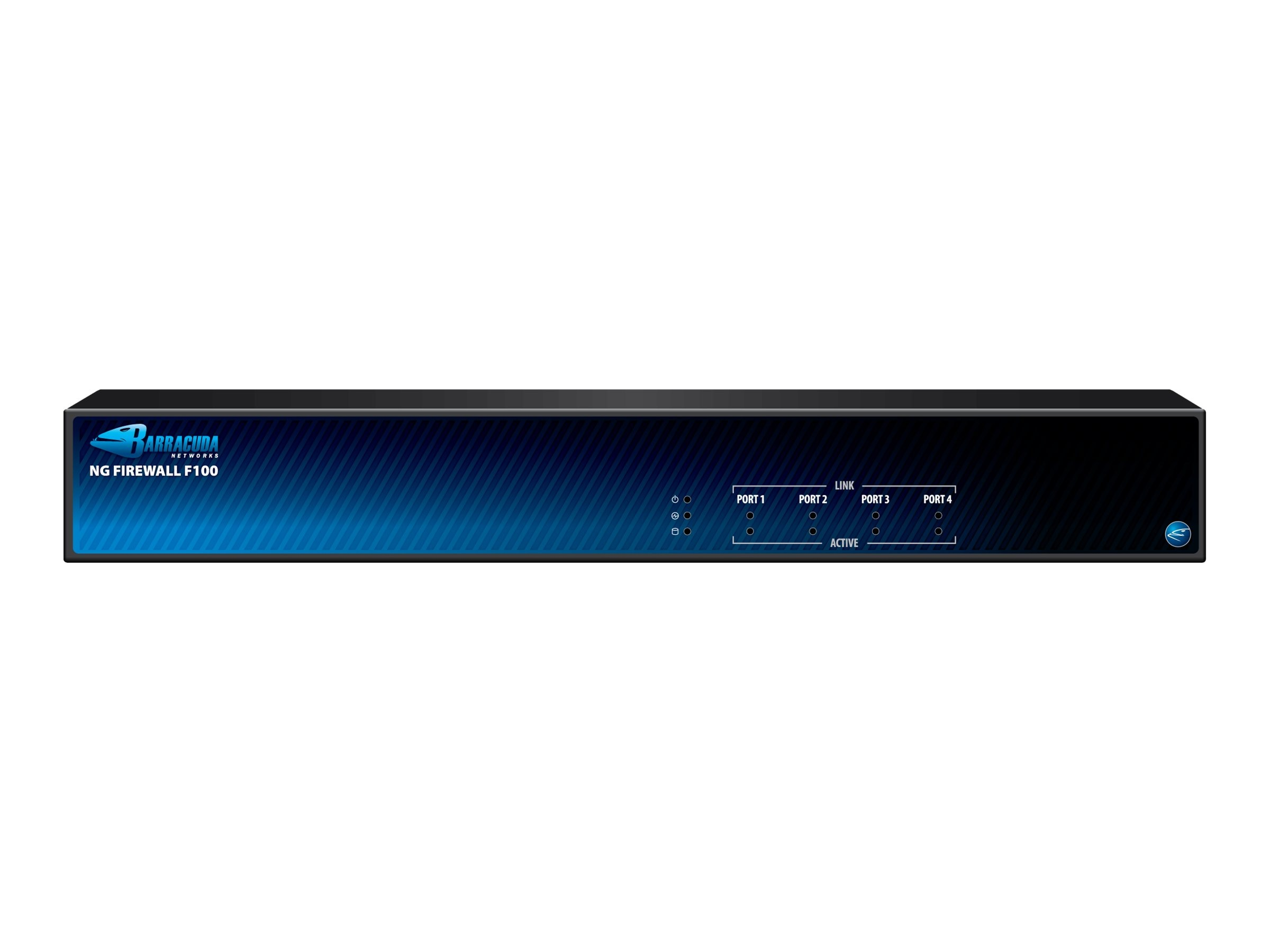 Barracuda NG Firewall F101 (WiFi Bundle) with 3 Year Energize Updates, BNGF101A3, 13470781, Network Firewall/VPN - Hardware