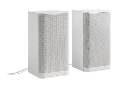 HP 2.0 S5000 Speaker System - White, K7S74AA#ABL, 20794135, Speakers - PC