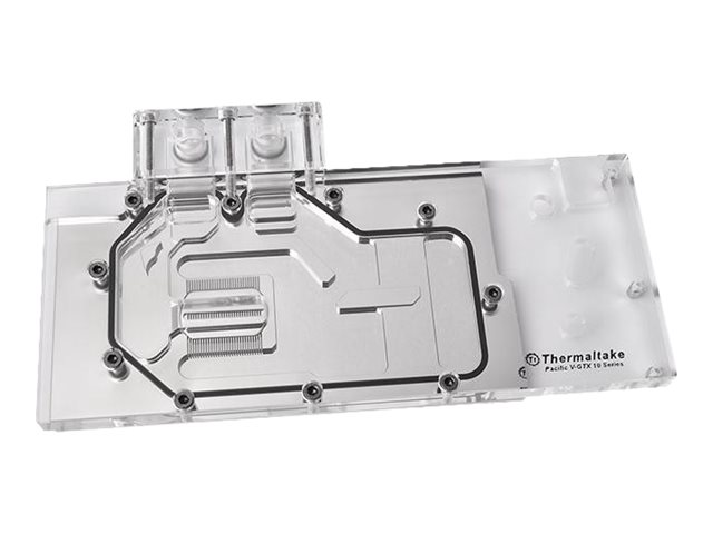 Thermaltake Pacific V-GTX 10 Series Founders Edition Transparent Water Block for GTX 1080 1070