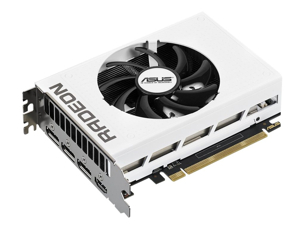 Asus Radeon R9 Nano PCIe 3.0 Graphics Card, 4GB, R9NANO-4G-WHITE, 30940618, Graphics/Video Accelerators