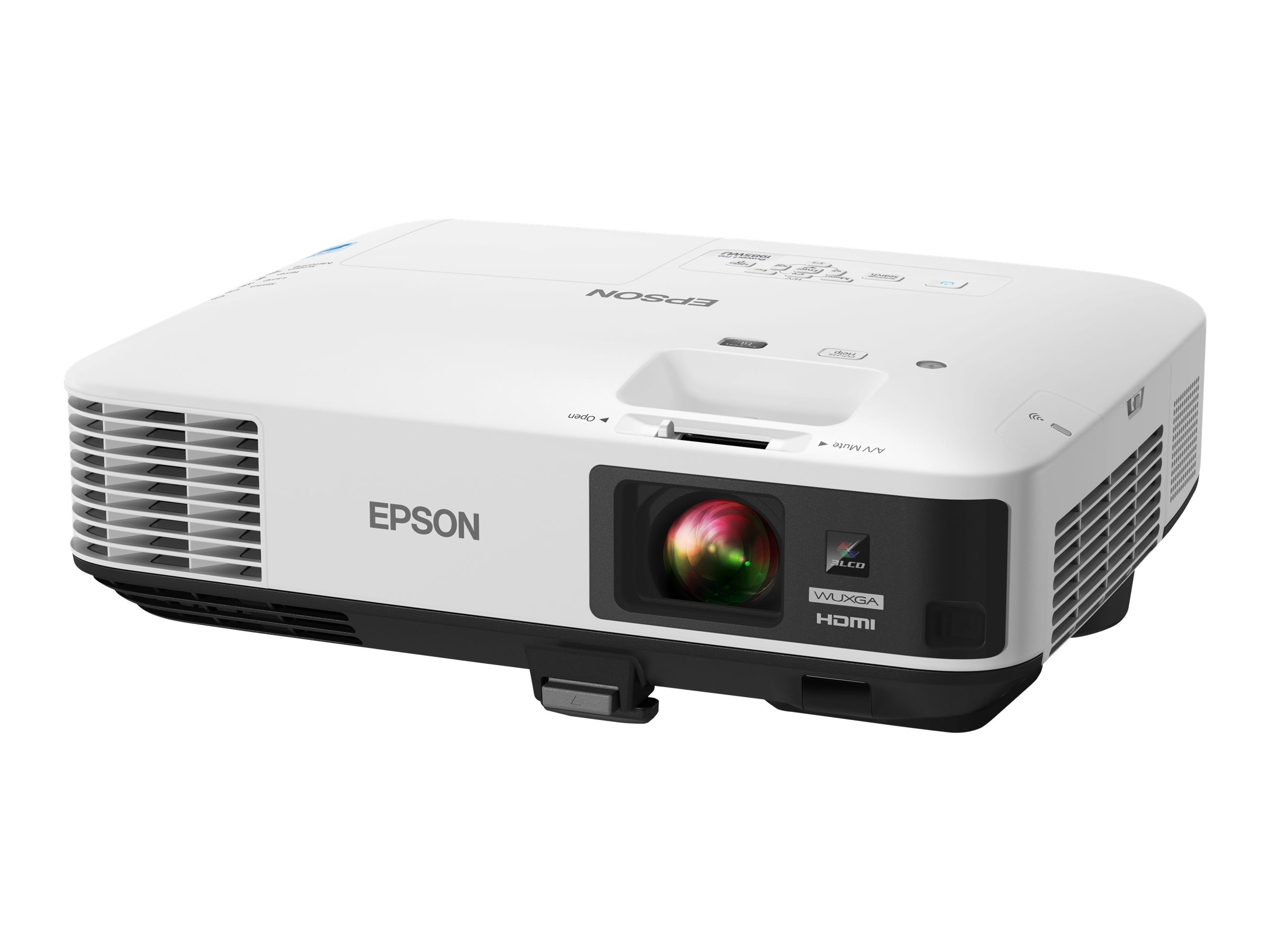 Epson PowerLite 1985WU WUXGA Wireless 3LCD Projector, 4800 Lumens, White, V11H619020, 17543132, Projectors