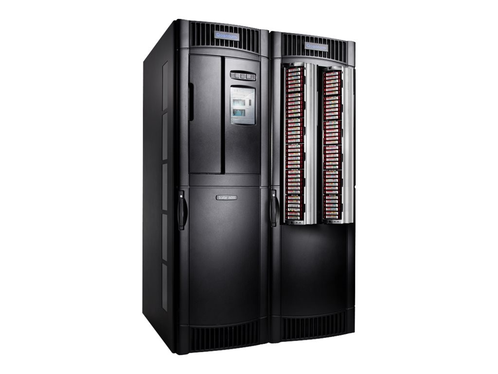 Quantum StorNext AEL6000 Archive 1050TB 2100TB FC 8Gb s Library w  700 Slots, (4) LTO-5 Drives & Encryption