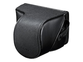 Sony NEX Leather Like Jacket,  Fits up to SEL1855, LCSEJC3/B, 14008476, Carrying Cases - Camera/Camcorder