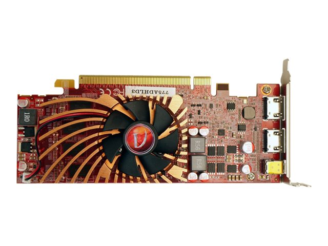 VisionTek Radeon 7750 PCIe Graphics Card, 2GB DDR3, 900686, 17498263, Graphics/Video Accelerators