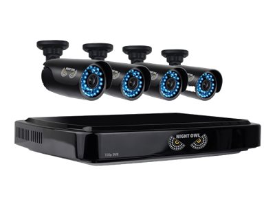 Night Owl 4 Channel Smart HD Video Security System with 1TB HDD, 4x 720p HD Camera, CL-441-720P, 19135571, Video Capture Hardware